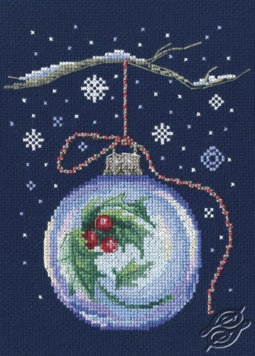 Ball with a Sprig of Holly by RTO - C291