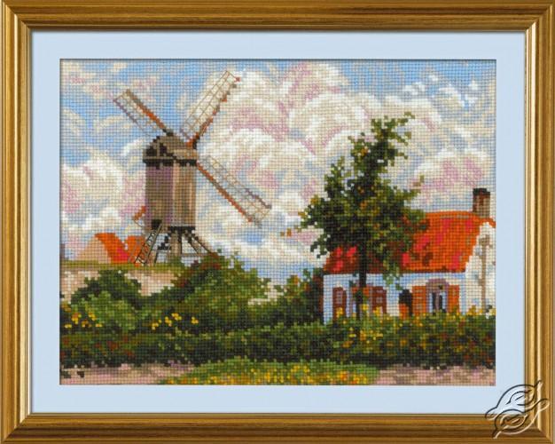 Windmill at Knokke by RIOLIS - 1702
