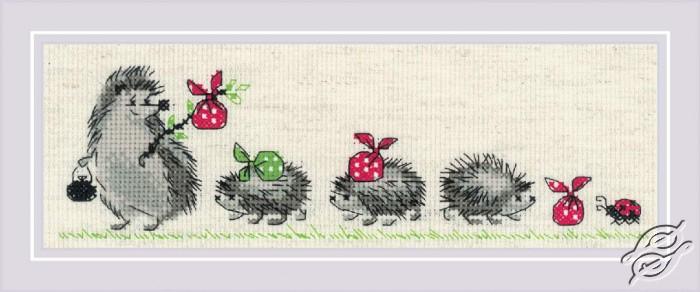 Hedgehogs by RIOLIS - 1711