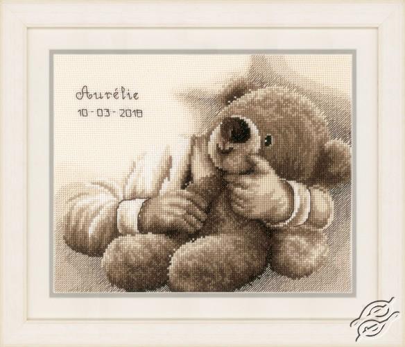 Teddy Bear by Vervaco - PN-0163748