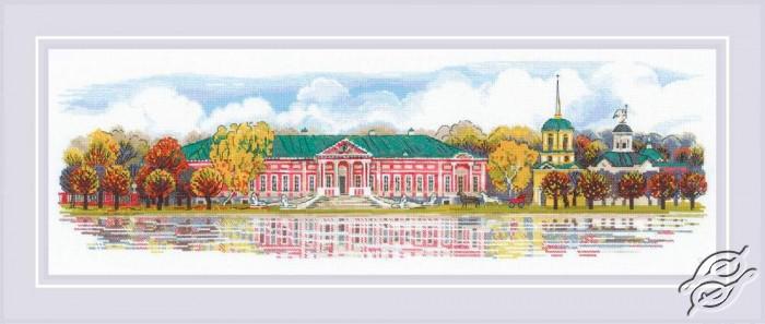 Kuskovo Manor by RIOLIS - 1734