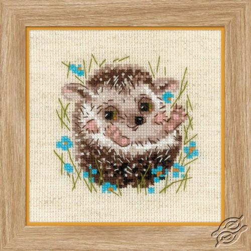 Little Hedgehog by RIOLIS - 1753