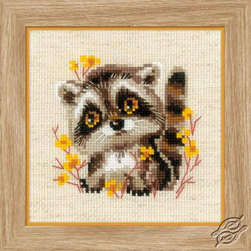 Little Raccoon by RIOLIS - 1754
