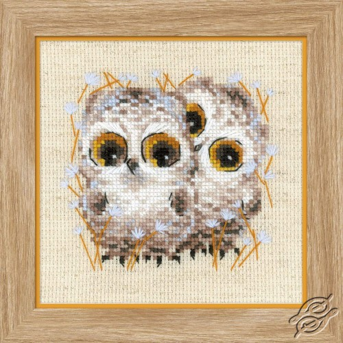 Little Owls by RIOLIS - 1755
