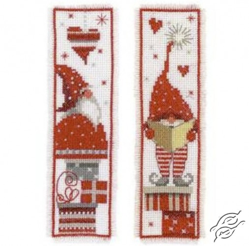 Bookmark - Christmas Gnome by Vervaco - PN-0165984