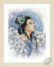 Asian Lady in Blue by Lanarte - PN-0169168
