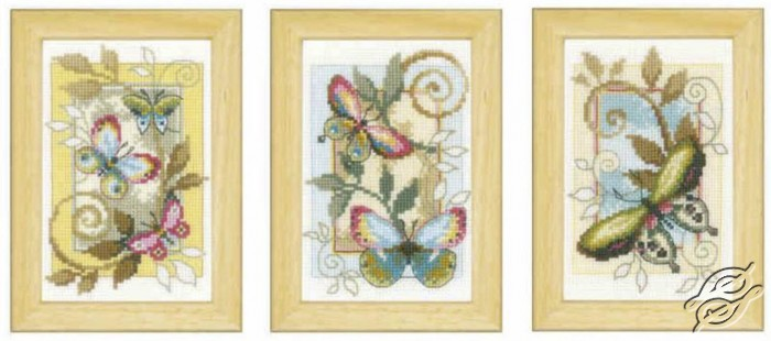 Deco Butterflies by Vervaco - PN-0155948