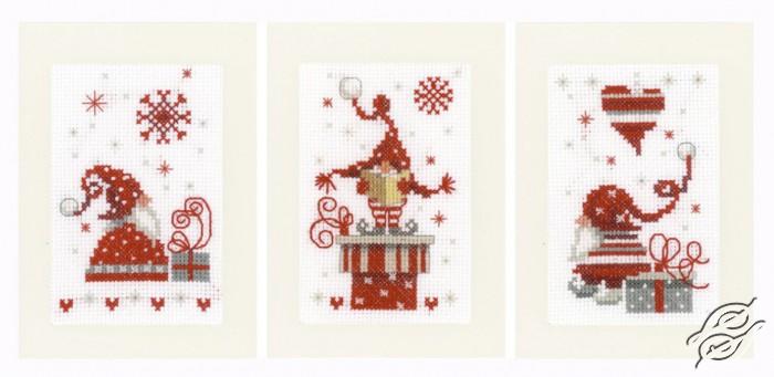 Christmas Gnomes by Vervaco - PN-0165989