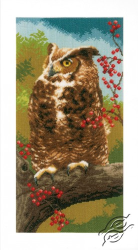 Owl in Autumn by Vervaco - PN-0164961