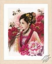 Asian Lady in Pink by Lanarte - PN-0170199