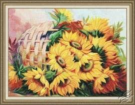 Sunny Flowers by Golden Fleece - T-010