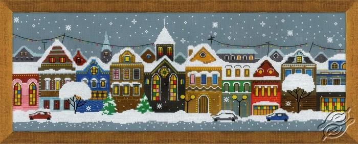 Christmas City by RIOLIS - 1683
