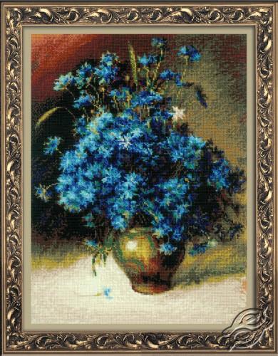 Cornflowers by RIOLIS - 1772