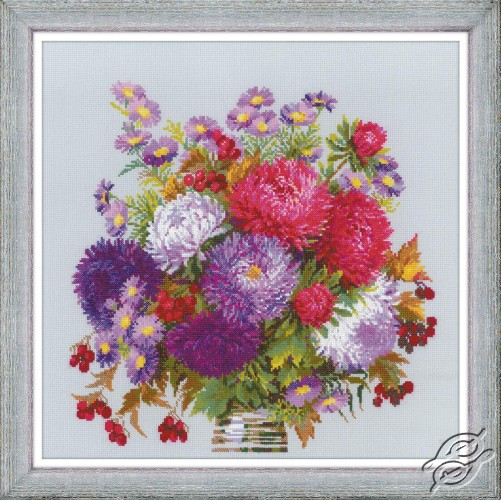 Bouquet with Asters by RIOLIS - 1773
