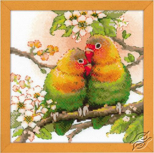 Lovebirds by RIOLIS - 1780