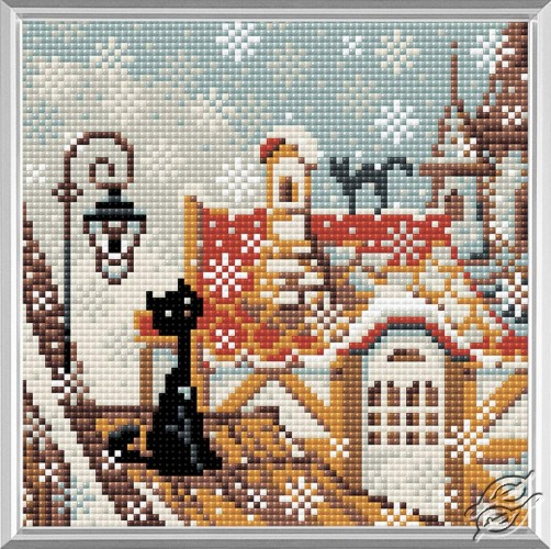 City & Cats Winter by RIOLIS - AM0010