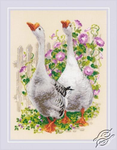 Geese by RIOLIS - 1807