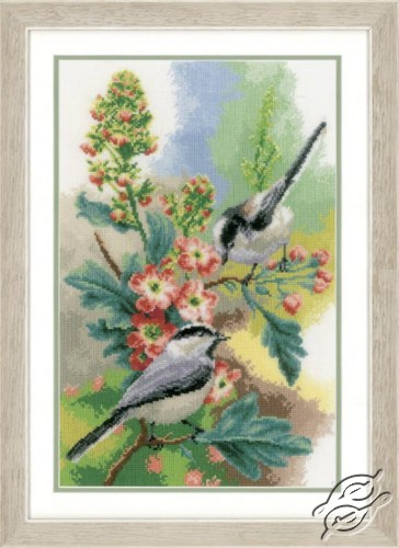 Chickadees & Blossoms by Vervaco - PN-0163024