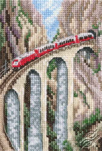 Landwasser Viaduct by RTO - C303