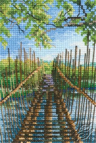 Foot-Bridge on the Austin Lake by RTO - C313