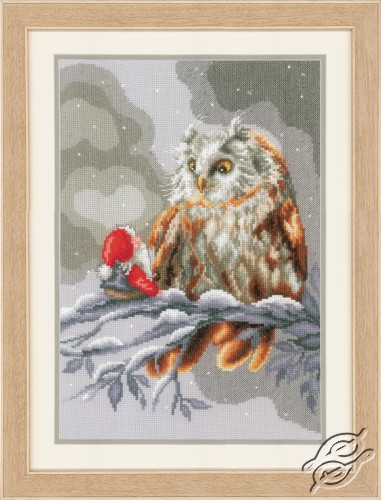 Owl and Gnome by Vervaco - PN-0158015