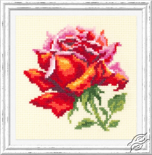 Red Rose by Magic Needle - 150-003