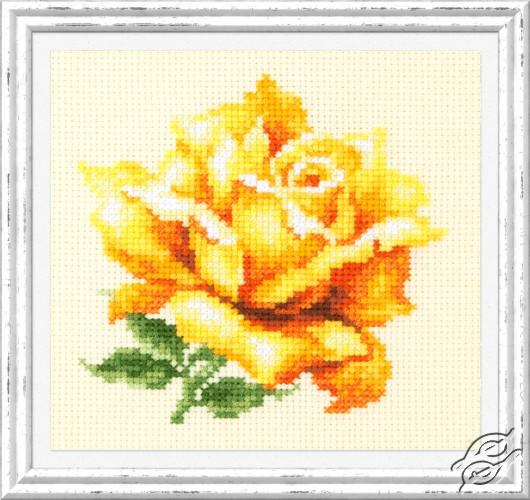 Yellow Rose by Magic Needle - 150-005