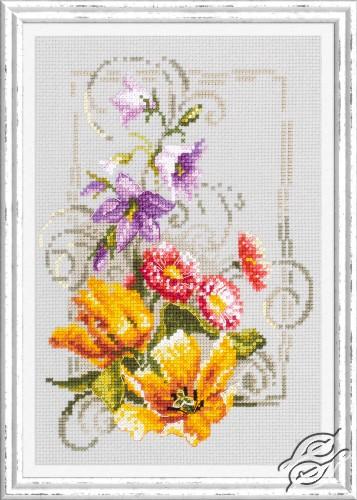 Happy June by Magic Needle - 100-162