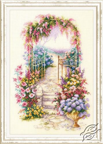 Entrance to the Garden by Magic Needle - 110-001