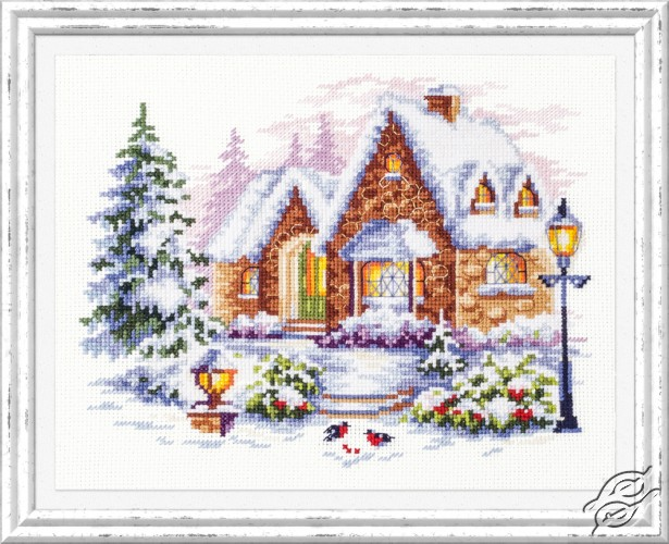 Winter House by Magic Needle - 110-041