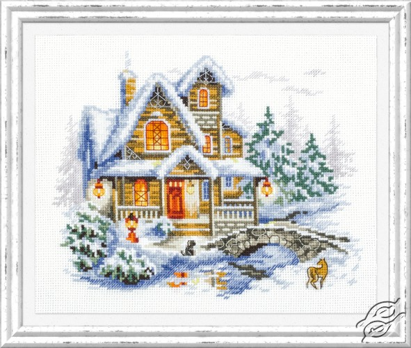 Winter Cottage by Magic Needle - 110-042