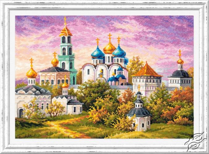 The Holy Trinity-St. Sergius Lavra by Magic Needle - 75-06