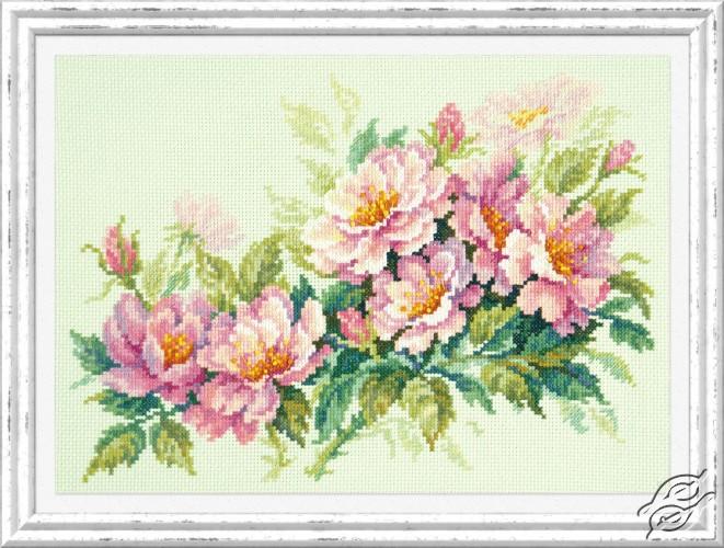 Dog-Rose Flowers by Magic Needle - 40-74
