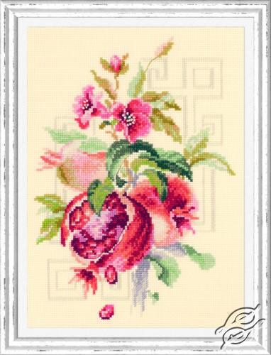 Pomegranate by Magic Needle - 100-212
