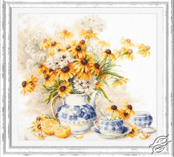 Flower Tea by Magic Needle - 50-08