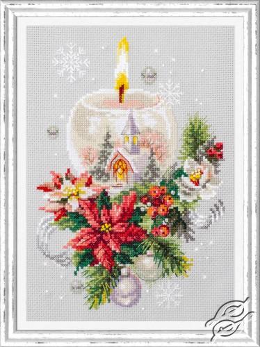 Christmas Candle by Magic Needle - 100-231