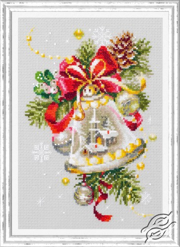 Christmas Bell by Magic Needle - 100-232