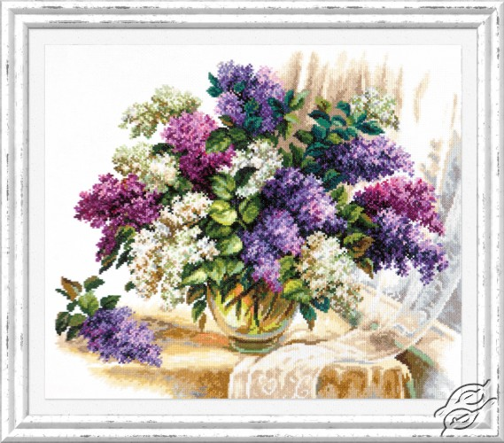 The Scent of Lilacs by Magic Needle - 40-64