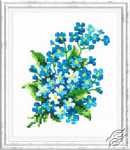 Forget-me-Nots by Magic Needle - 28-06