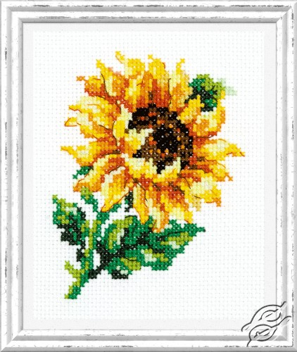 Small Sunflower by Magic Needle - 28-04