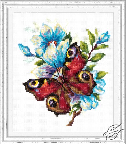 Peacock Butterfly by Magic Needle - 42-09