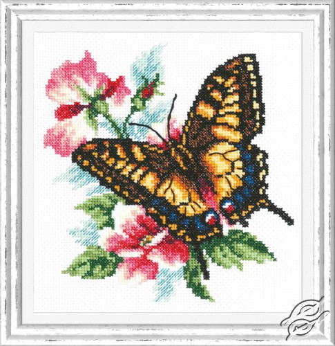 Swallowtail Butterfly by Magic Needle - 42-10