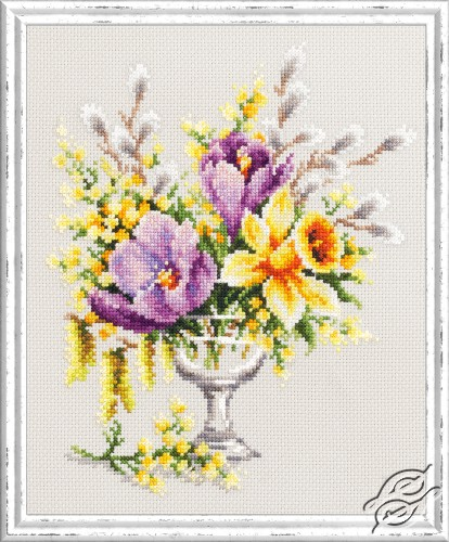 Spring Bouquet by Magic Needle - 100-002