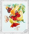 Butterflies and Pears by Magic Needle - 130-051