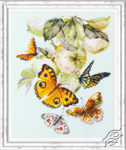 Butterflies and Apples by Magic Needle - 130-052