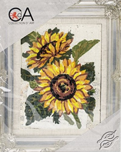 Sunflowers by Collection D'Art - 3042K