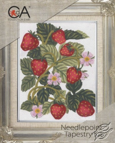 Strawberries by Collection D'Art - 3161K