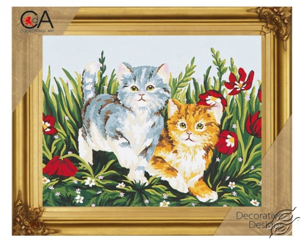 Kittens by Collection D'Art - 6032K