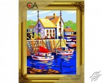 At the Pier by Collection D'Art - 6293K