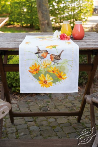 Robins & Flowers by Vervaco - PN-0161964